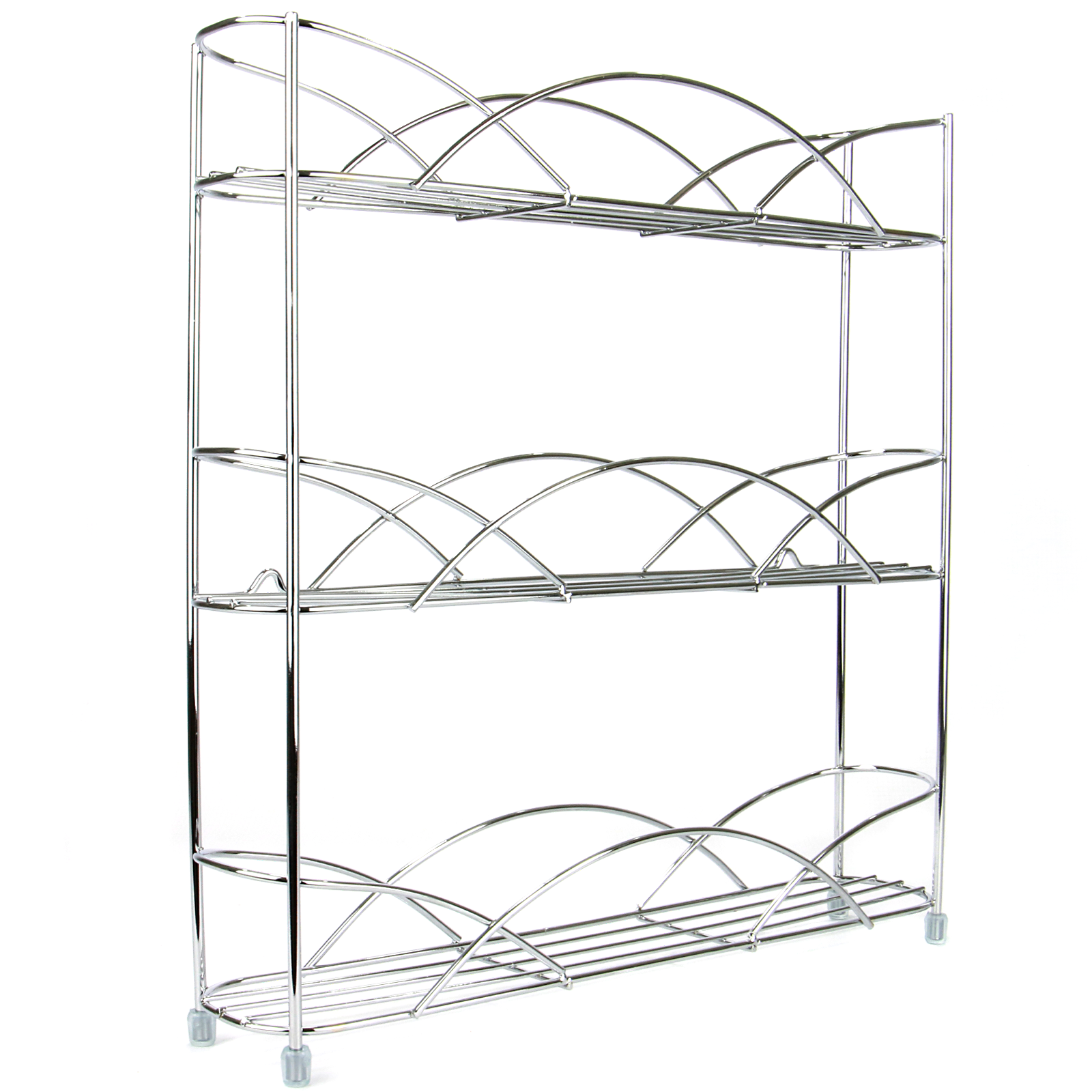 Free-Standing-3-Tier-Herb-amp-Spice-Rack-Non-slip-Universal-Fit-M-amp-W thumbnail 4