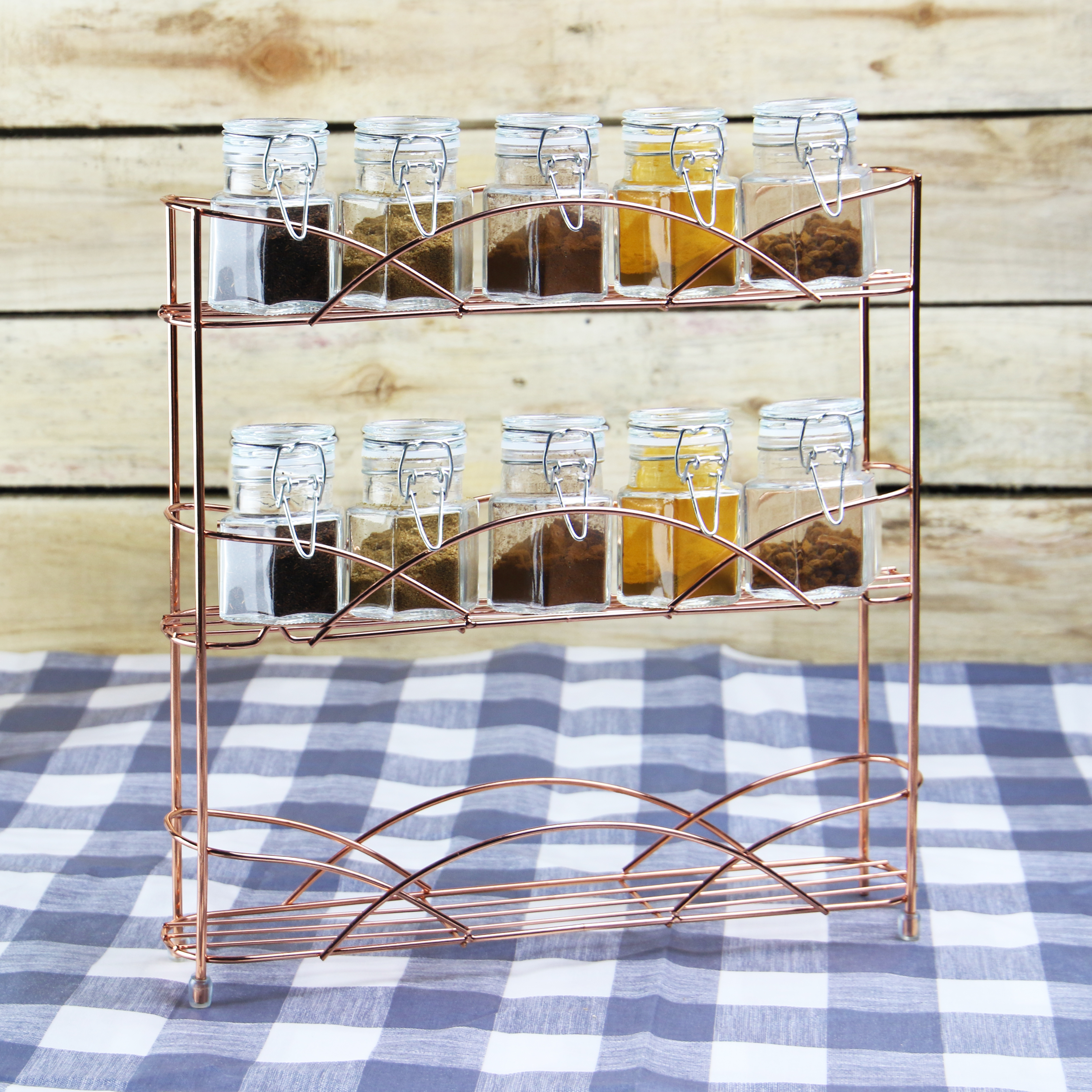 Free-Standing-3-Tier-Herb-amp-Spice-Rack-Non-slip-Universal-Fit-M-amp-W thumbnail 23