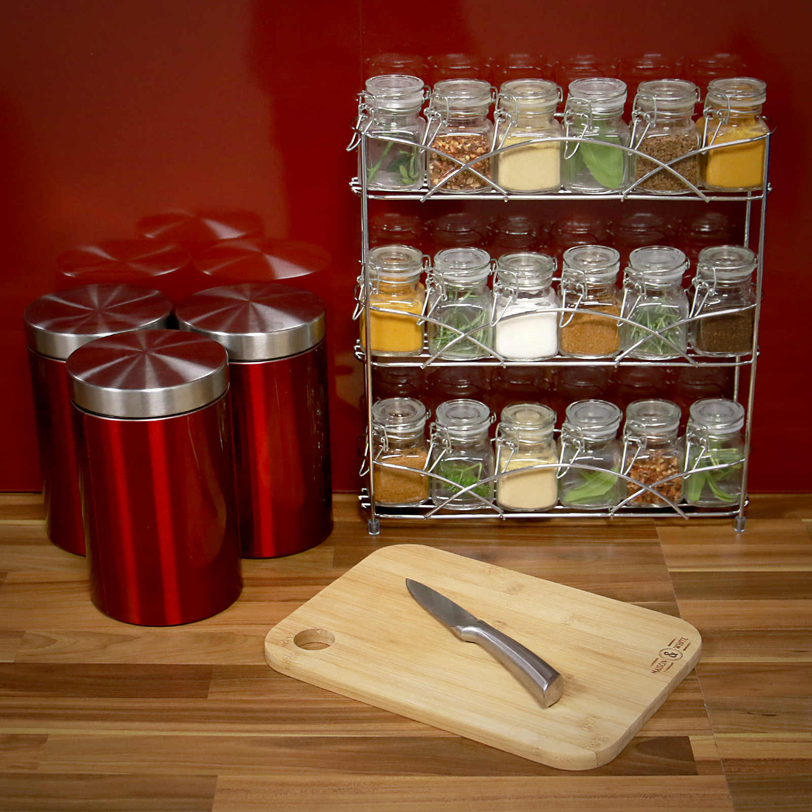 Free-Standing-3-Tier-Herb-amp-Spice-Rack-Non-slip-Universal-Fit-M-amp-W thumbnail 6