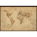 World Map Antique Style Maxi Poster - Image 2