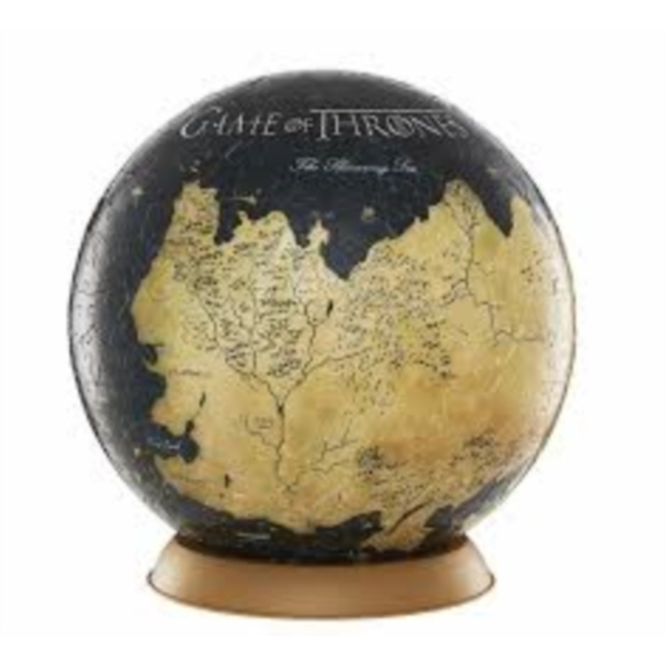Game Of Thrones 9 Inch Globe 4D Puzzle (540 Pieces)