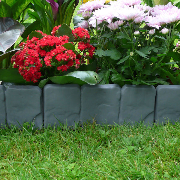 5m Grey Stone Effect Lawn Edging | M&W - Image 5