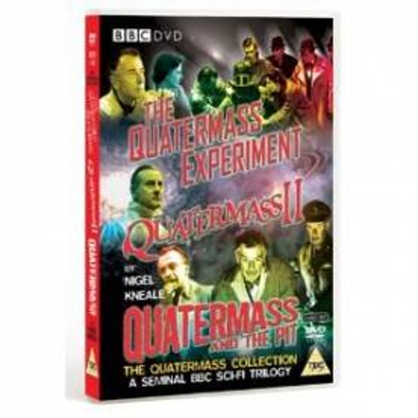 The Quatermass Collection - The Quatermass Experiment / Quatermass 2 / Quatermass And The Pit [DVD]