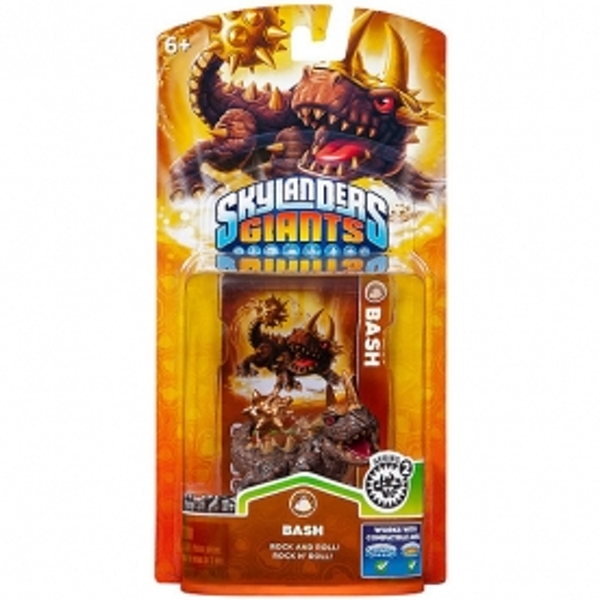 Series 2 Bash (Skylanders Giants) Earth Character Figure - Image 4
