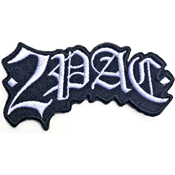 Tupac - Gothic Arch Standard Patch