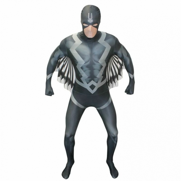 Morphsuit Black Bolt XX-Large Black