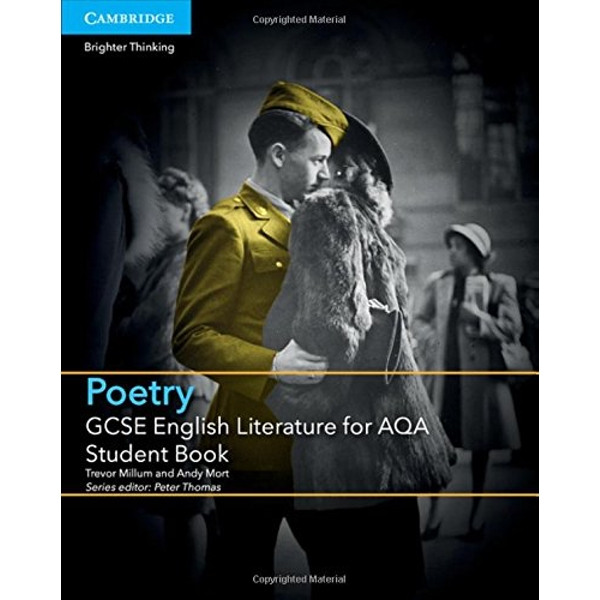 GCSE English Literature for AQA Poetry Student Book by Trevor Millum, Andy Mort (Paperback, 2015)