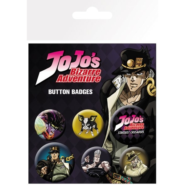 JoJo's Bizarre Adventure Characters Badge Pack