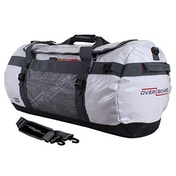 Overboard Adventure Waterproof Duffle Bag, White - 60 Litres