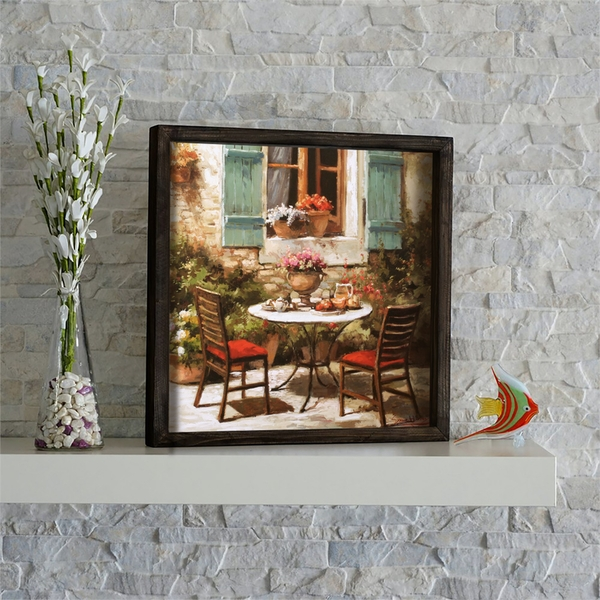 KZM510 Multicolor Decorative Framed MDF Painting