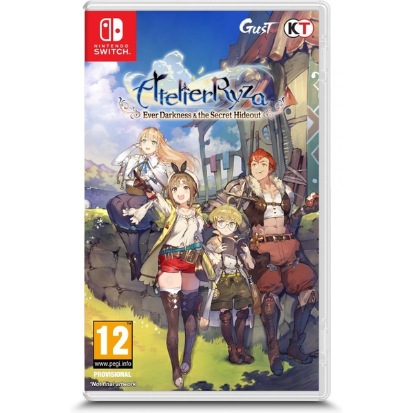 Atelier Ryza Ever Darkness & the Secret Hideout Nintendo Switch Game
