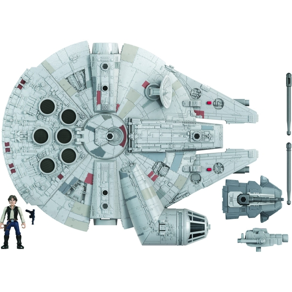 Mission Fleet Deluxe Vehicle Falcon (Star Wars) Playset