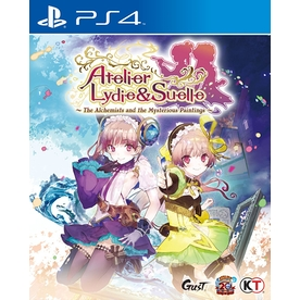 Atelier Lydie & Suelle The Alchemists And The Mysterious Paintings PS4 Game