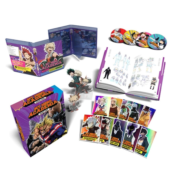 My Hero Academia: Season Three Part One - Collectors Edition Blu-ray/DVD Combo