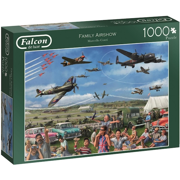 Falcon Family Air Show Jigsaw Puzzle - 1000 Pieces