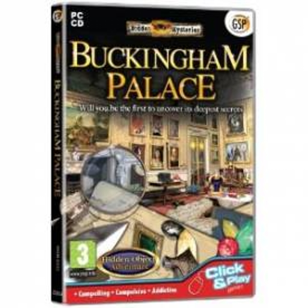 Hidden Mysteries Buckingham Palace Game PC