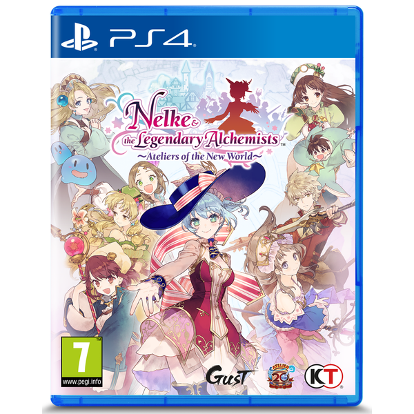 Nelke and & The Legendary Alchemists Ateliers Of The New World PS4 Game