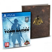 Rise of the Tomb Raider 20 Year Celebration Limited Edition PS4 Game (Pro Enhanced)