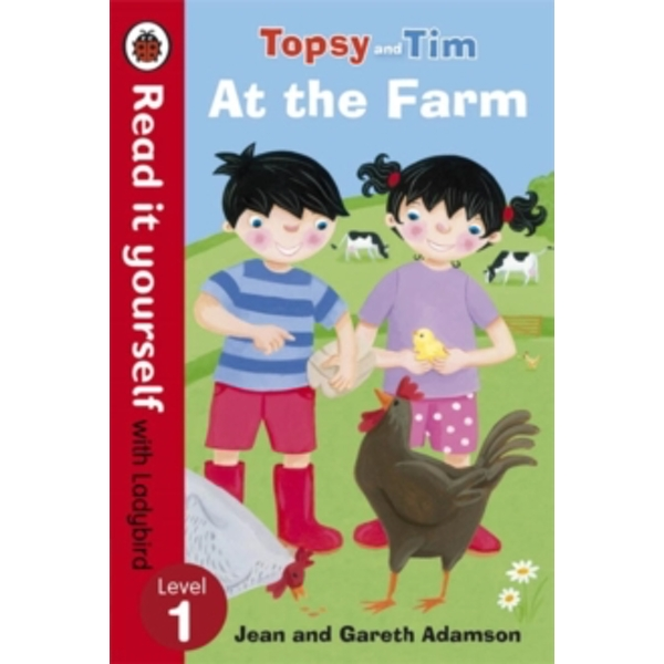 Topsy and Tim: At the Farm - Read it yourself with Ladybird: Level 1 by Penguin Books Ltd (Paperback, 2014)