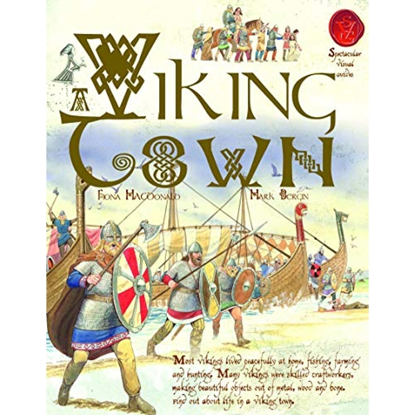Viking Town by Fiona MacDonald (Paperback, 2010)