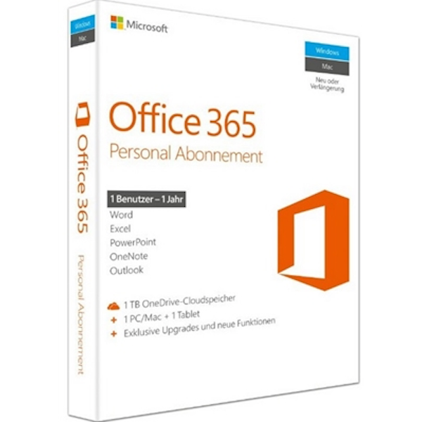 Office 365 Personal English EuroZone Subscription 1 Year Medialess - Image 2