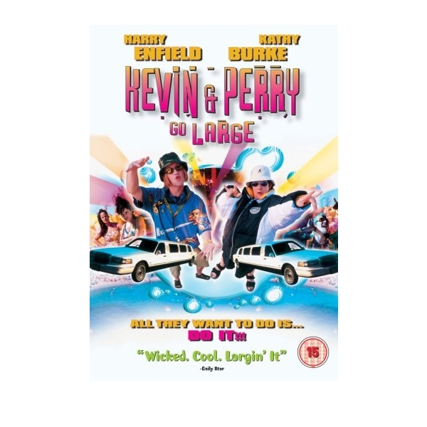 Kevin And Perry Go Large DVD
