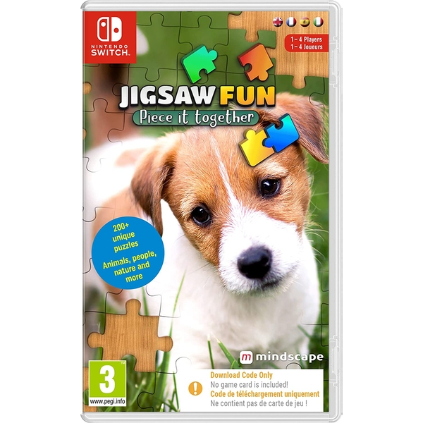 Jigsaw Fun Piece It Together Nintendo Switch Game [Code in a Box]