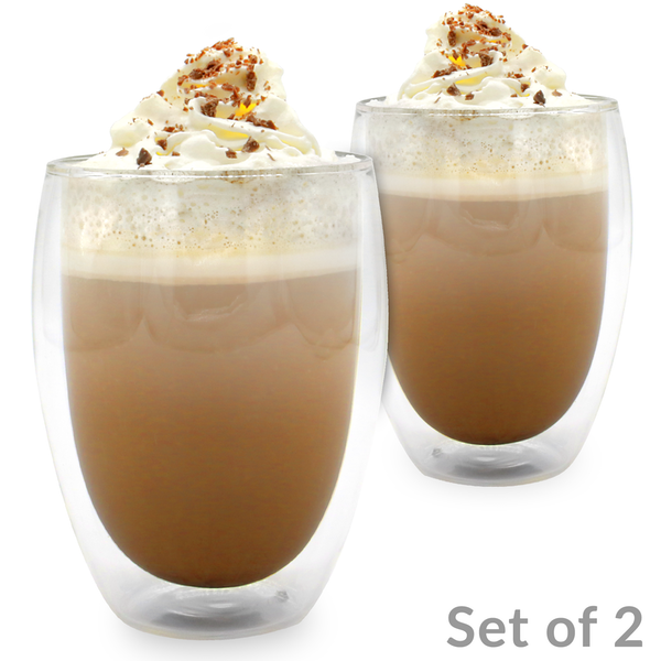Double walled Glasses 350ml