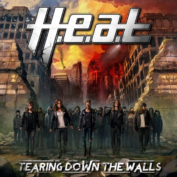 H.E.A.T. - Tearing Down the Walls CD