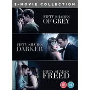 Fifty Shades Freed 3-Movie Boxset DVD