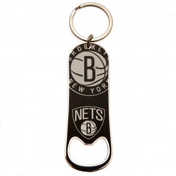 Brooklyn Nets Bottle Opener Keychain
