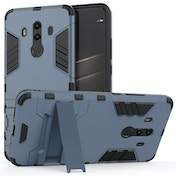 Huawei Mate 10 Pro Armour Combo Stand Case - Steel Blue
