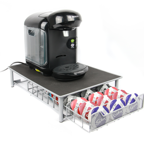 Tassimo 60 Pod Holder Drawer | M&W Grey