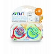 Philips AVENT SCF172/22 BPA-Free Fashion Soothers (6-18 Months) 2 Pack