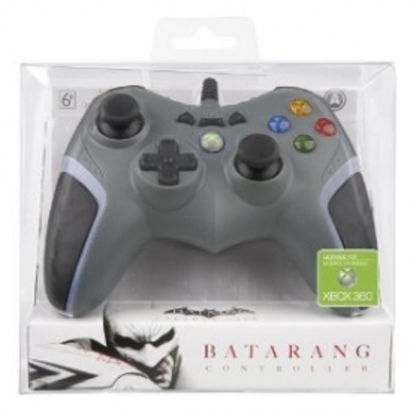 Ex-Display Officially Licensed Batman Batarang Wired Controller Xbox 360 Used - Like New - Image 4