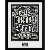 Peaky Blinders Label Framed Collector Print