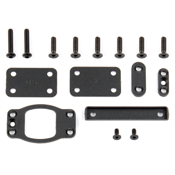 Team Associated B6 Gear Box/ Bulkhead Shim Set