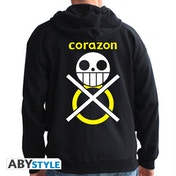 One Piece - Corazon Men's XX-Large Hoodie - Black