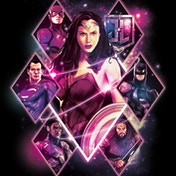 Justice League Movie - Wonder Woman Diamonds Canvas