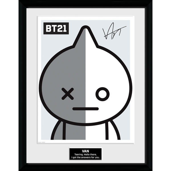 BT21 - Van Collector Print