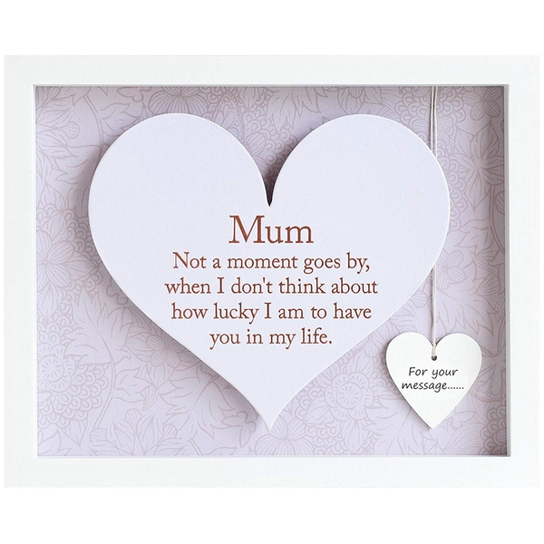 Said with Sentiment Rectangular Heart Frames Mum