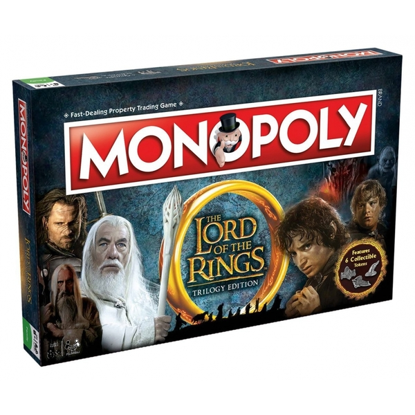 Lord of The Rings Monopoly Trilogy Edition Board Game
