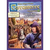 Carcassonne: Count, King & Robber Expansion 6 (English 2018 2nd Ed)