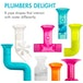 Boon - Pipes Cogs & Tubes Baby Bath Toy Bundle [Damaged Packaging] - Image 2