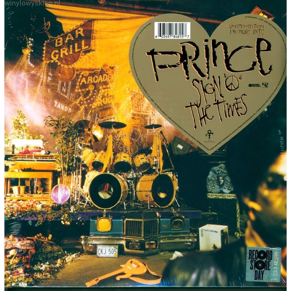 "Prince - Sign ""O"" The Times Picture Disc Vinyl"