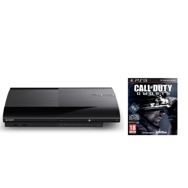 Free Ps3 Console: 500GB SUPER SLIM Console System Black PS3 & Call Of Duty