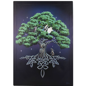 Large Tree Of Life Canvas Picture by Lisa Parker