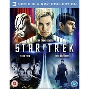 Star Trek, Star Trek Into Darkness & Star Trek Beyond Blu-ray