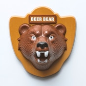 Thumbs Up! Bear Beer Bottle Opener