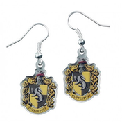 Hufflepuff Crest Earrings